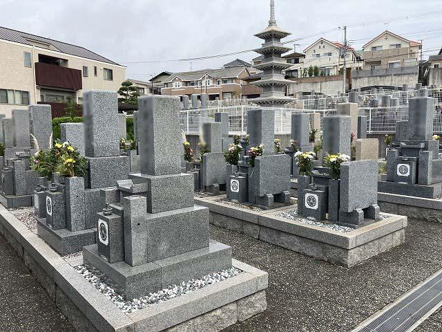 中尾墓地(明石市)のお墓